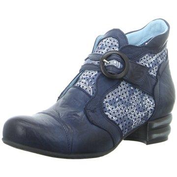 Simen Komfort Stiefelette blau