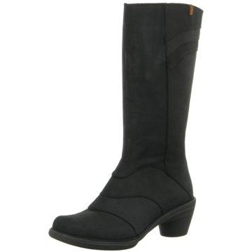 El Naturalista Klassischer Stiefel schwarz