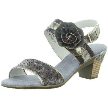 Estelle Komfort Sandale grau