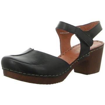 Manitu Komfort Sandale schwarz