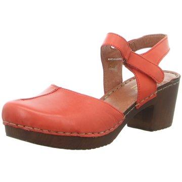 Manitu Komfort Sandale rot