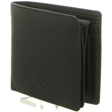 Voi Leather Design Geldbörsen & EtuisHerrenbörse schwarz