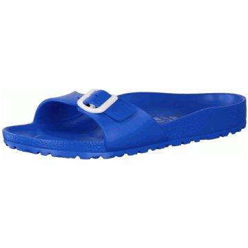 Birkenstock Pool Slides blau