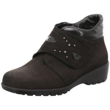 Waldläufer Komfort StiefeletteKamela schwarz