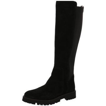 Alpe Woman Shoes Overknee Stiefel schwarz