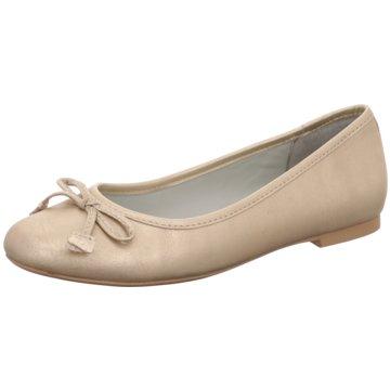 Jana Eleganter Ballerina gold