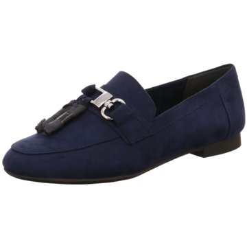 Marco Tozzi Business Slipper blau