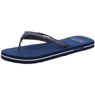 Esprit Bade-ZehentrennerGlitter Thongs blau