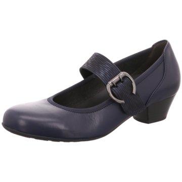 Gabor comfort Komfort Pumps blau