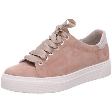 Semler Plateau Sneaker rosa