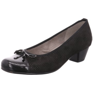 Jenny Komfort Pumps schwarz