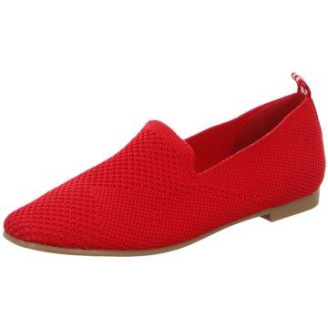 La Strada Klassischer Slipper rot