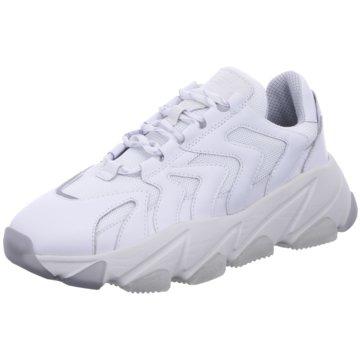 Ash Plateau Sneaker weiß