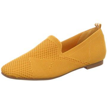 La Strada Slipper gelb