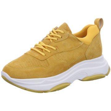 Lazamani Plateau Sneaker gelb