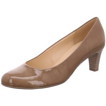 Gabor Flacher Pumps beige