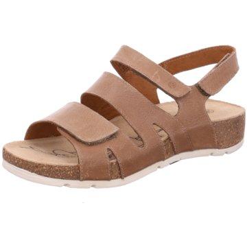 Josef Seibel Komfort Sandale beige