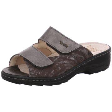 Fidelio Komfort Pantolette grau