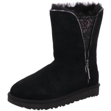 UGG Australia WinterbootClassic Zip Boot schwarz