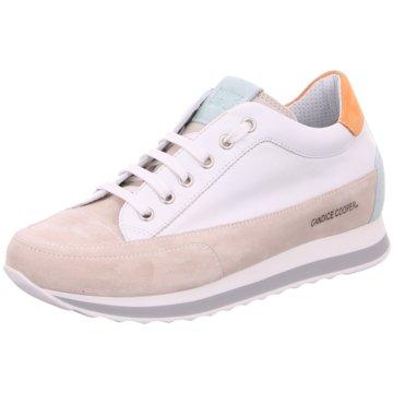 Candice Cooper Sneaker Low weiß