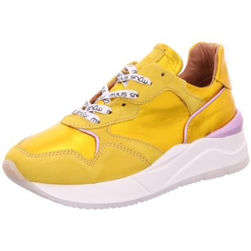 Mjus Plateau Sneaker gelb