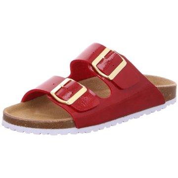 Idana Klassische Pantolette rot