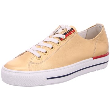Paul Green Sneaker Low gold