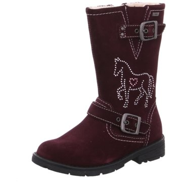 Lurchi by Salamander Hoher Stiefel rot