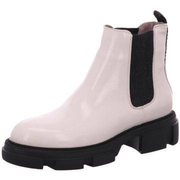 Alpe Woman Shoes Chelsea Boot weiß