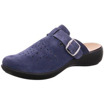 Westland Komfort Pantolette blau