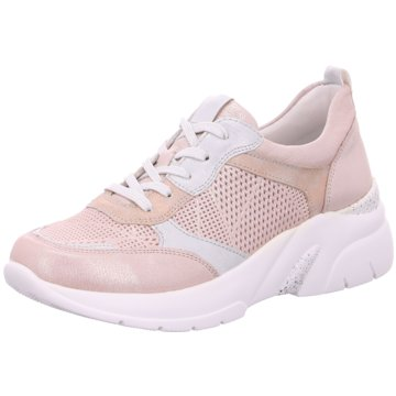 Remonte Sportlicher Schnürschuh rosa
