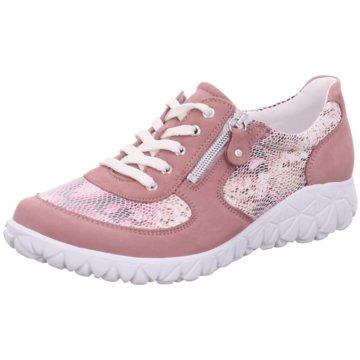 Waldläufer Komfort SchnürschuhHavy Soft rosa