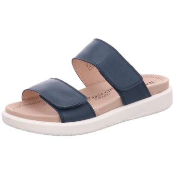 Romika Komfort Pantolette blau