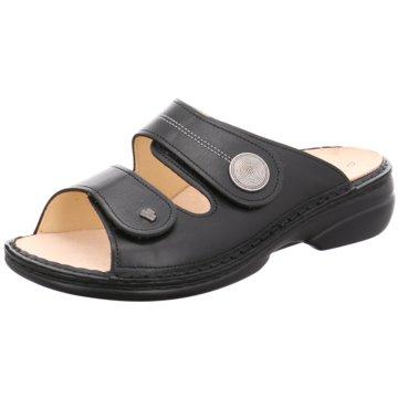 FinnComfort Komfort Pantolette02550 Sansibar schwarz