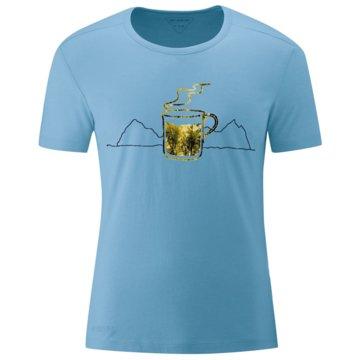 Maier Sports T-ShirtsCOFFEE BREAK M - 152627 blau