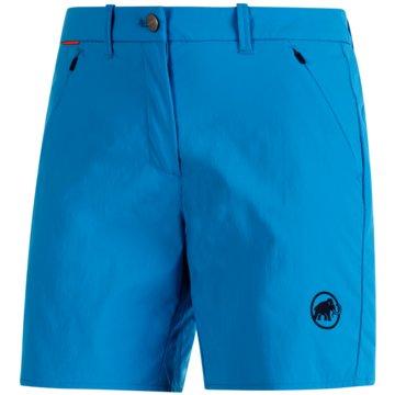 Mammut kurze SporthosenHIKING SHORTS WOMEN - 1023-00130 blau