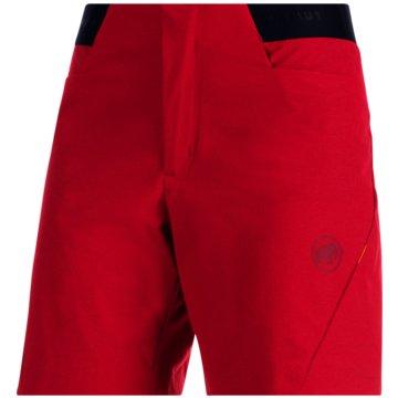 Mammut kurze Sporthosen - 1023-00380 rot