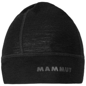 Mammut MützenMERINO HELMET BEANIE - 1191-00270 schwarz