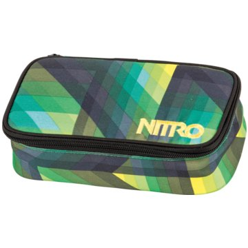 Nitro Bags Schüleretui ungefüllt grün