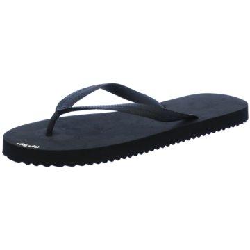 Flip-Flop Bade-Zehentrenner schwarz