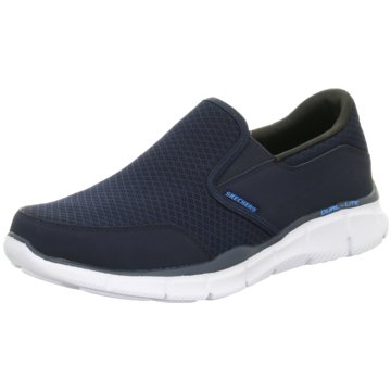 Skechers Slipper blau