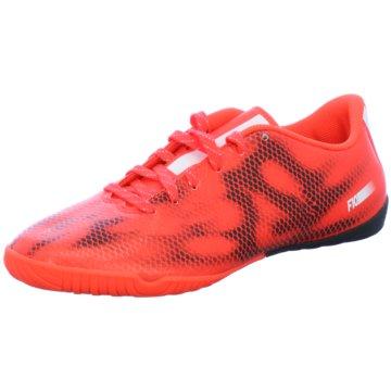adidas Hallen-SohleF10 IN rot