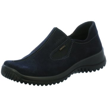 Legero Hochfront Slipper blau