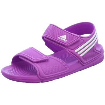 adidas Offene Schuhe lila
