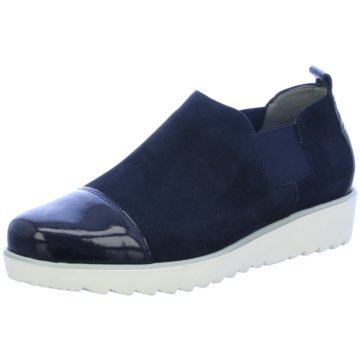 ara Hochfront Slipper blau