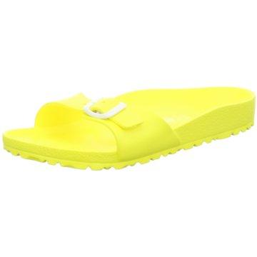 Birkenstock Badeschuh gelb