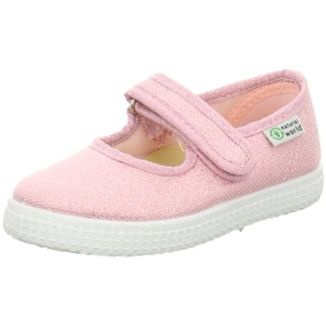 Natural World Eco Spangenschuh rosa