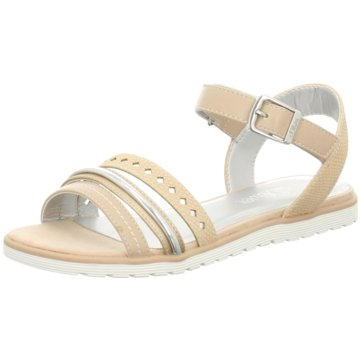 s.Oliver Offene Schuhe beige
