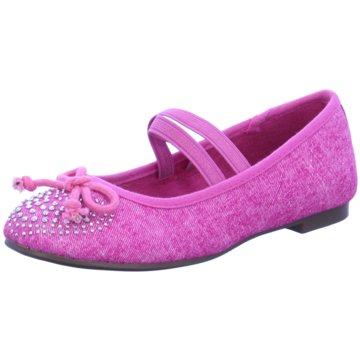 Indigo Halbschuhe pink