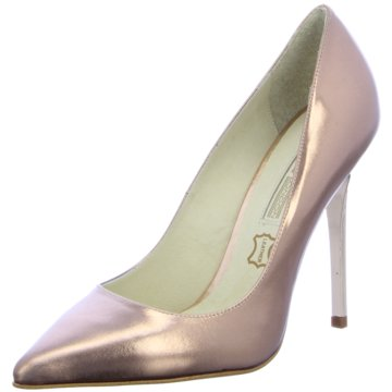 Buffalo Top Trends High Heels gold